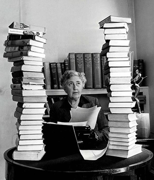 Agatha Christie. Autores y máquinas de escribir